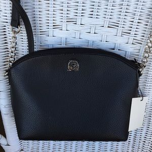 New Anne Klein Crossbody w Rear Pocket & Chains